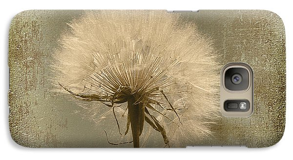Galaxy Case featuring the photograph Large Dandelion by Linda Olsen