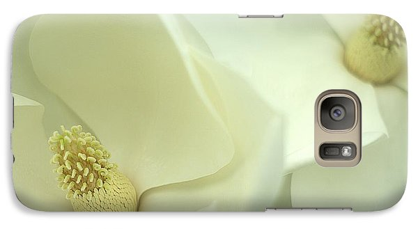 Galaxy Case featuring the photograph Large White Magnolias by Suzanne Powers