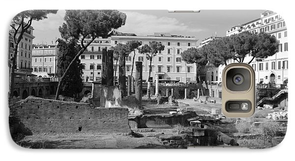 Galaxy Case featuring the photograph Largo Di Torre - Roma by Dany Lison