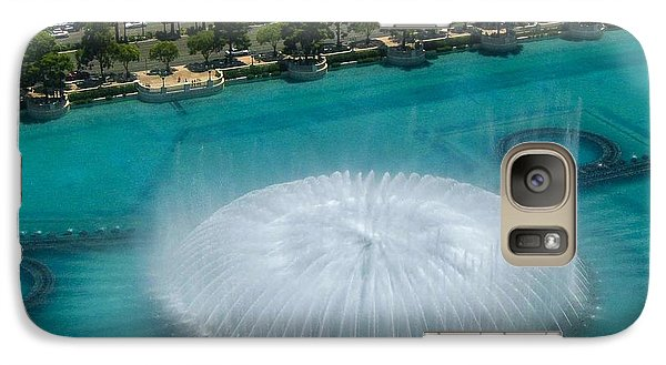 Galaxy Case featuring the photograph Las Vegas Orb by Angela J Wright