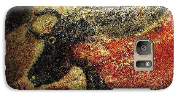 Galaxy Case featuring the photograph Lascaux II Number 2 - Horizontal by Jacqueline M Lewis