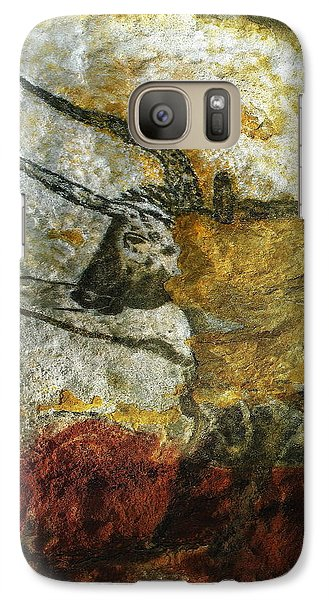 Galaxy Case featuring the photograph Lascaux II Number 3 - Vertical by Jacqueline M Lewis