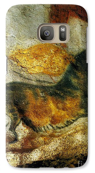 Galaxy Case featuring the photograph Lascaux II Number 4 - Vertical by Jacqueline M Lewis