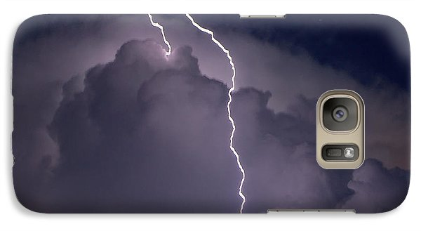 Galaxy Case featuring the photograph Lashing Out by Charlotte Schafer