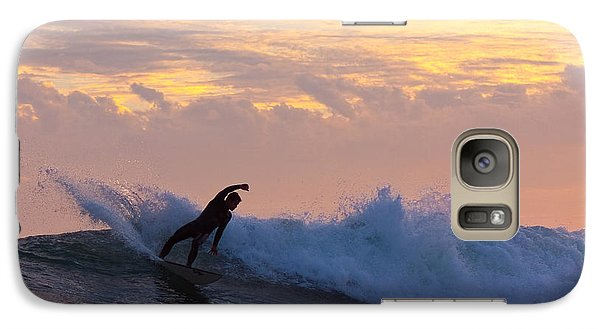 Galaxy Case featuring the photograph Last Blast by Paul Topp