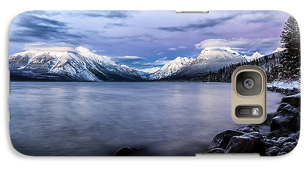 Galaxy Case featuring the photograph Last Light by Aaron Aldrich