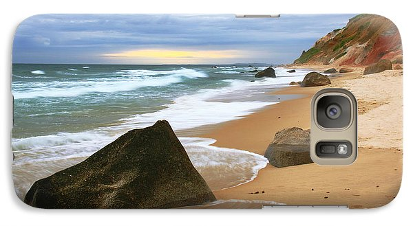 Galaxy Case featuring the photograph Last Light Before The Storm by Roupen  Baker