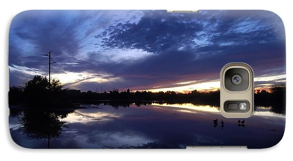 Galaxy Case featuring the photograph Last Light by Tam Ryan