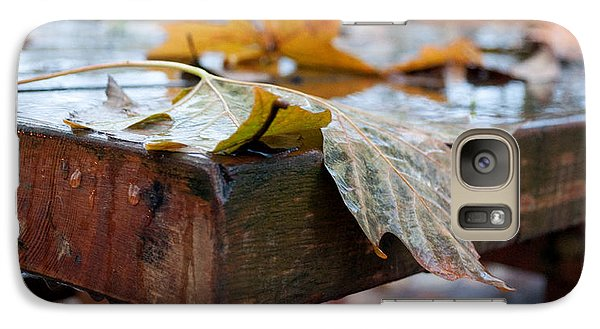 Galaxy Case featuring the photograph Last Of The Leaves by Gwyn Newcombe