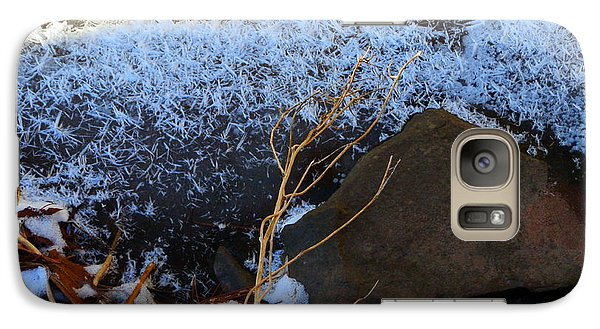 Galaxy Case featuring the photograph Last Remains by Carolyn Cable