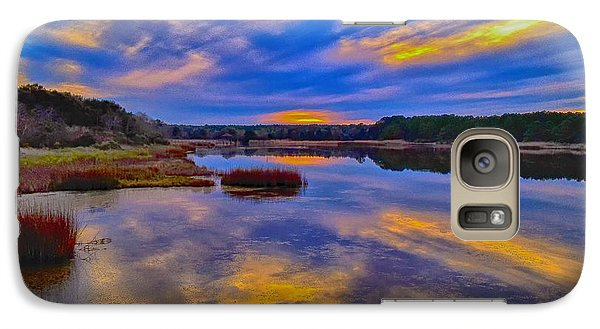 Last Sunset Galaxy S7 Case by Bill Barber