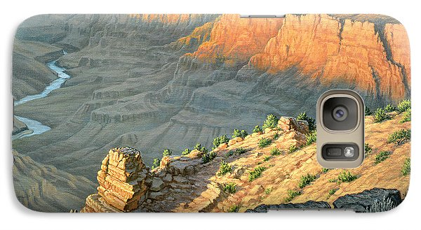 Late Afternoon-desert View Galaxy S7 Case by Paul Krapf