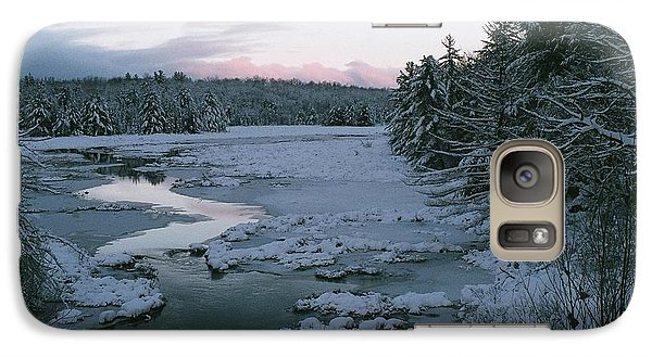 Galaxy Case featuring the photograph Late Afternoon In Winter by David Porteus