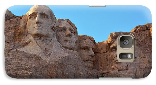 Late Afternoon, Mount Rushmore National Galaxy S7 Case