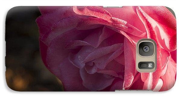 Galaxy Case featuring the photograph Late Fall  Surprise by Wanda Brandon