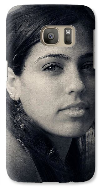 Galaxy Case featuring the photograph Latina Beauty by Zinvolle Art