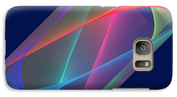Galaxy Case featuring the digital art L'attente/the Waiting by Karo Evans