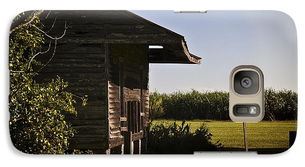 Galaxy Case featuring the photograph Laura Plantation Slave Home by Ray Devlin