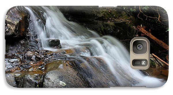 Galaxy Case featuring the photograph Laurel Falls Great Smoky Mountains by Jerome Lynch