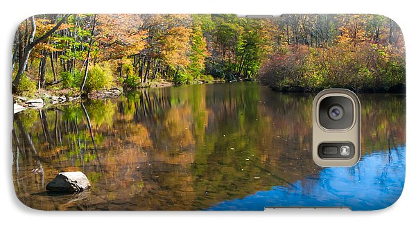 Galaxy Case featuring the photograph Laurel Hill Creek Lan 344 by G L Sarti