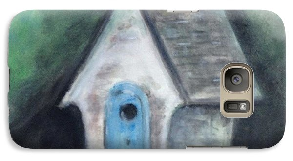 Galaxy Case featuring the painting Laurie's Birdhouse by Stan Tenney