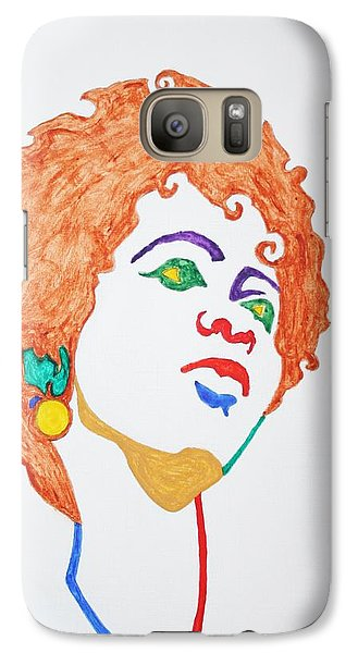 Galaxy Case featuring the painting Lauryn Hill  by Stormm Bradshaw