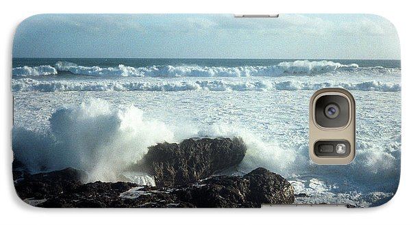 Galaxy Case featuring the photograph Lava Beach Rocks On 90 Mile Beach by Mark Dodd