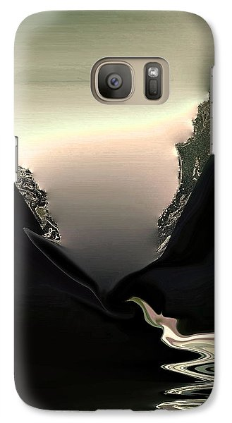 Galaxy Case featuring the photograph Lava Flow by Steve Godleski