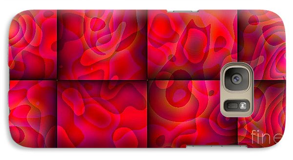 Galaxy Case featuring the digital art Lava Lamp Abstract 2  By Saribelle Rodriguez by Saribelle Rodriguez