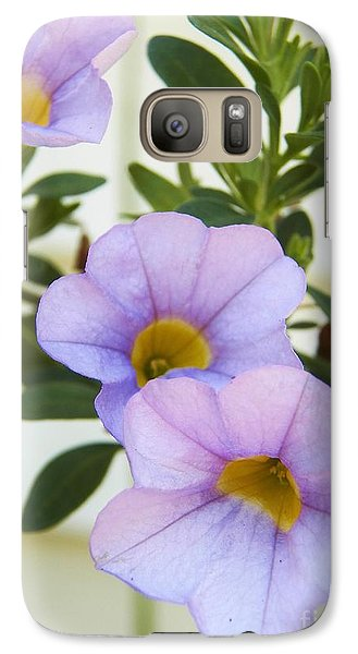 Galaxy Case featuring the photograph Lavendar Pink by Judy Via-Wolff