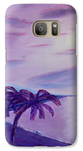 Galaxy Case featuring the painting Lavender Bay by Melvin Turner