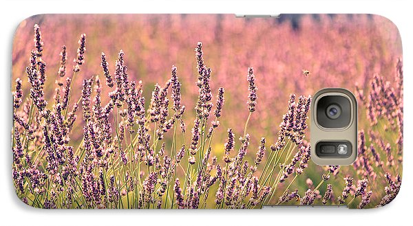Galaxy Case featuring the photograph Lavender Dreams by Lynn Sprowl