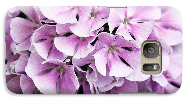 Galaxy Case featuring the photograph Lavender Flocks by Susan Crossman Buscho