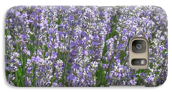 Galaxy Case featuring the photograph Lavender Hues by Pema Hou