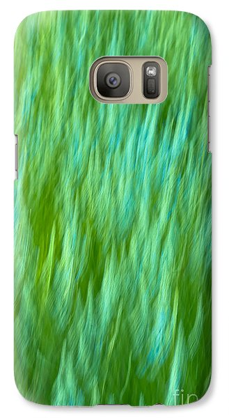 Galaxy Case featuring the photograph Lavender In Abstract by Jonathan Nguyen