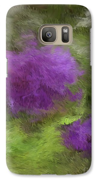 Galaxy Case featuring the digital art Monet Meadow by The Art of Alice Terrill
