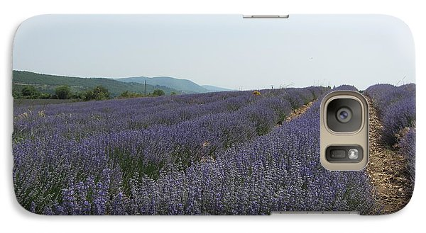 Galaxy Case featuring the photograph Lavender Sky by Pema Hou