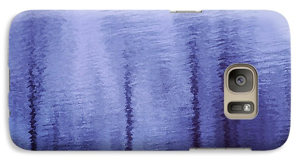 Galaxy Case featuring the photograph Lavender Sticks by Lorenzo Cassina