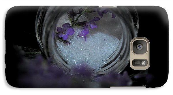 Galaxy Case featuring the photograph Lavender Sugar by Marija Djedovic