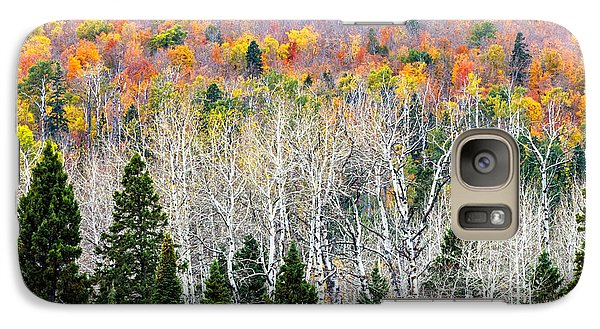 Galaxy Case featuring the photograph Layers Of Autumn by Mary Amerman
