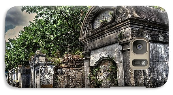 Galaxy Case featuring the photograph Layfayette Cemetery New Orleans by Timothy Lowry