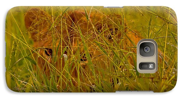 Galaxy Case featuring the photograph Laying In The Grass by J L Woody Wooden
