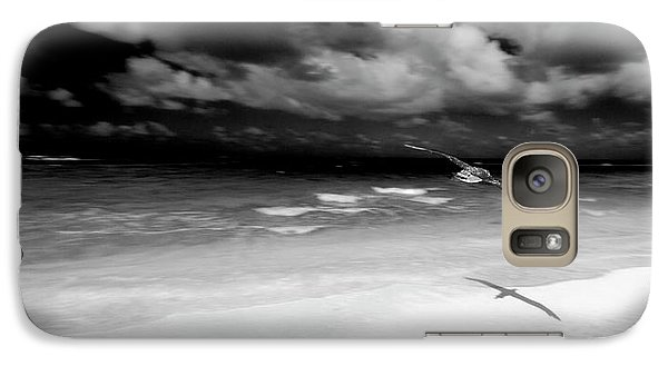 Laysan Albatross French Frigate Shoals Galaxy Case by Paul D Stewart