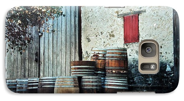 Galaxy Case featuring the photograph Lazy Afternoon At The Winery by Diane Alexander