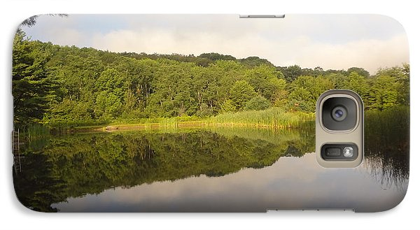 Galaxy Case featuring the photograph Lazy Afternoon by Michael Porchik