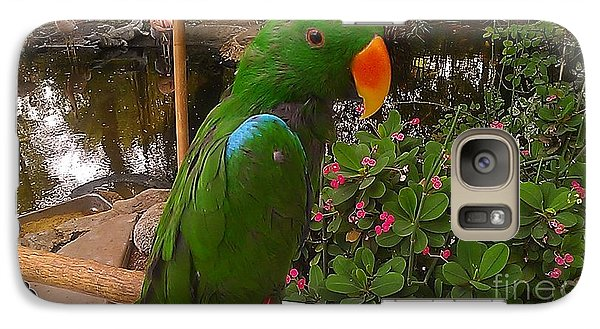 Galaxy Case featuring the photograph Le Parrot by Chris Tarpening