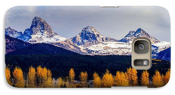 Le Trois Tetons Galaxy S7 Case