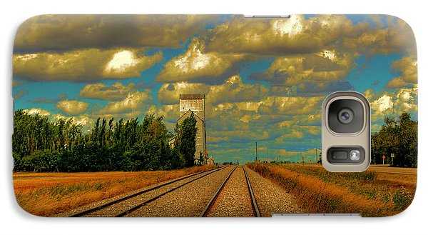 Galaxy Case featuring the photograph Leading Lines by Larry Trupp