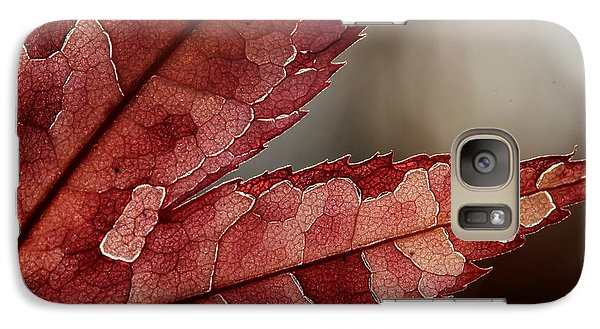 Galaxy Case featuring the photograph Leaf Detail by Kenny Glotfelty