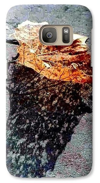 Galaxy Case featuring the photograph Leaf Lace In New Orleans Louisiana by Michael Hoard